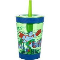 Contigo Детский стакан с соломинкой Spill proof tumbler Granny Smith Hero, 0.42 л