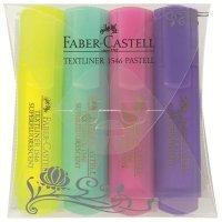 FABER-CASTELL Набор текстовыделителей Faber-Castell 154610 4цв.