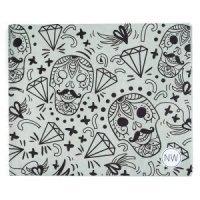 New wallet Бумажник Skulls