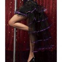 New Costumes Юбка Кабаре с фиолетовой лентой (S)
