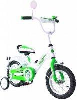 RT Велосипед двухколёсный Rich Toys Aluminium BA Ecobike зеленый 5411/KG1221