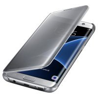 Samsung Clear View Cover S7 Edge Silver (EF-ZG935CSEGRU)