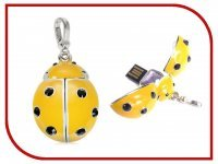 USB Flash Drive 8Gb - Qumo Charm Series Ladybird Yellow